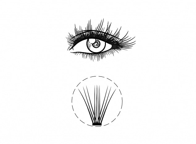 Ресницы Levchuk Lash Couture, Normal